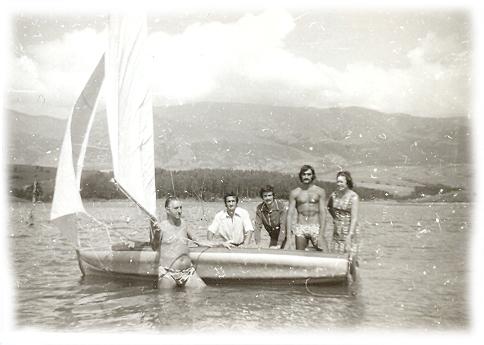 С родителите на язовир Душанци