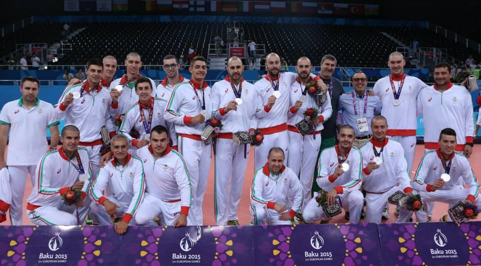 С Евроолимпийски отбор по волейбол 2015