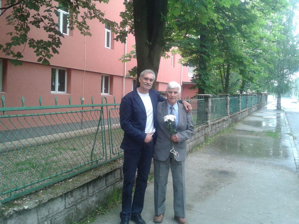 С моят учител и треньор Христо Кюркчиев