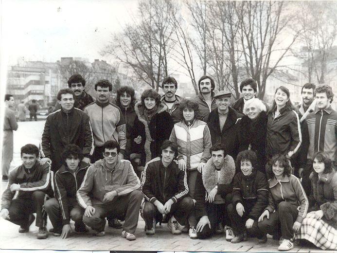 Със студенти от ВИФ