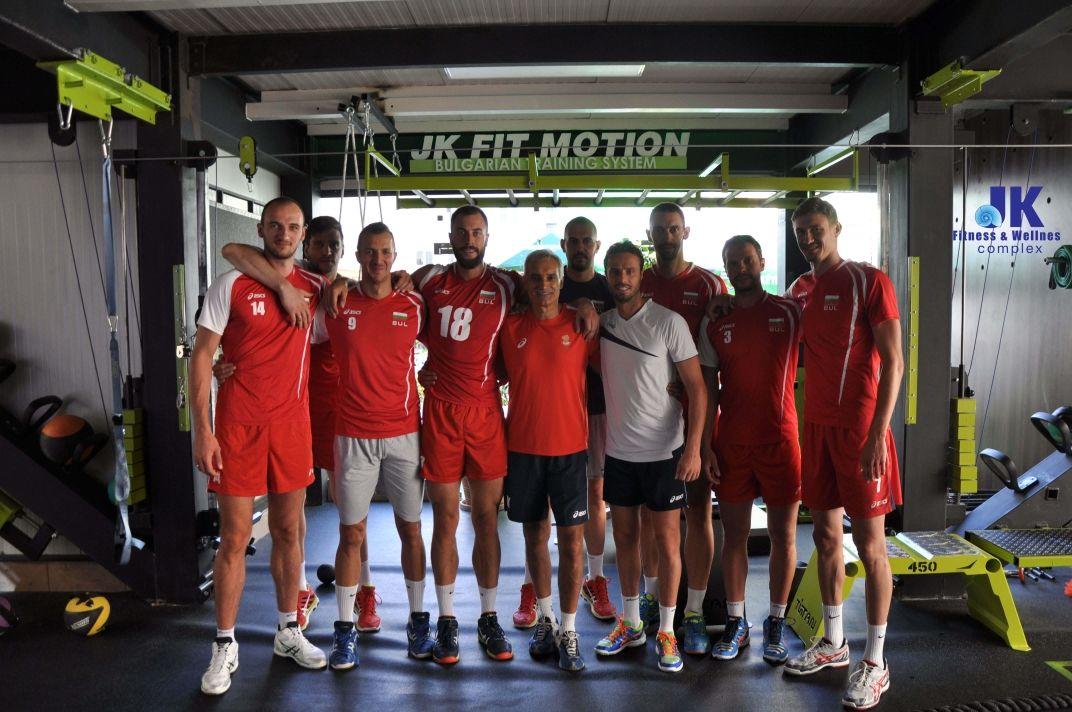 С нац. отбор по волейбол 2015 г.